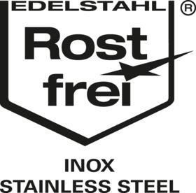 Lid for small container GN 2/3, stainless steel_certificate - 1