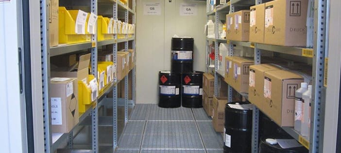 Safe storage for flammable liquids
