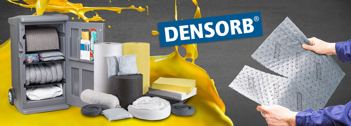DENSORB Guide: Safe & effective clean-up of leaks & spills
