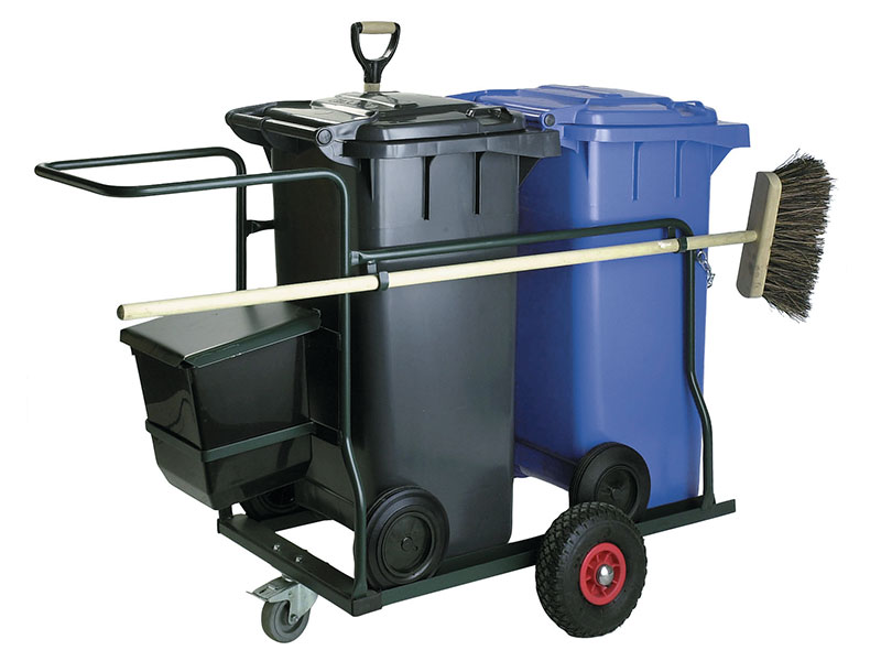 Cleaning Equipment Cleaning Trolleys Waste Collection Bins