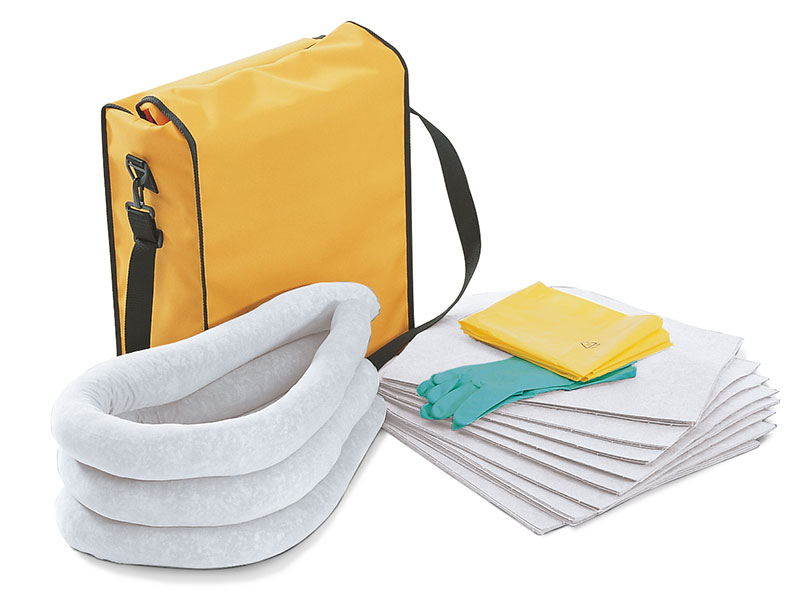 DENSORB Emergency Spill Kit in Weatherproof Bag, UNIVERSAL application