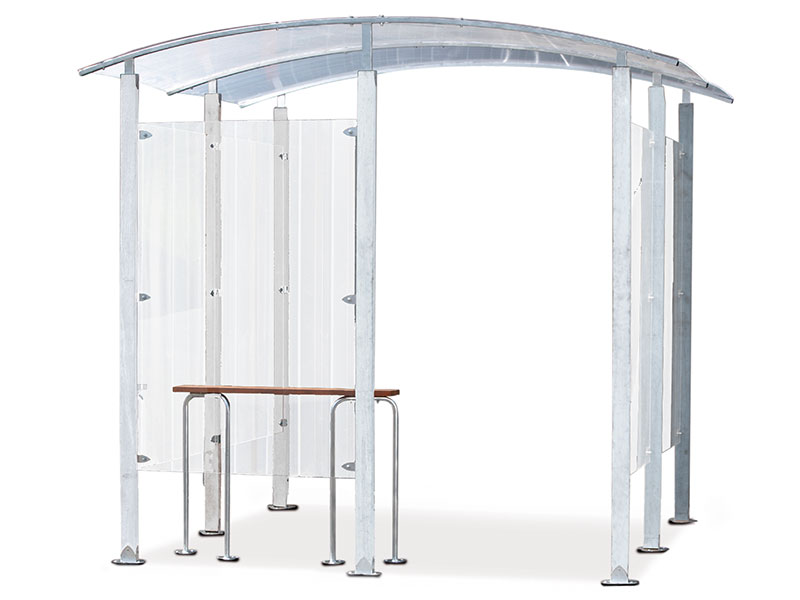 Smoking Shelters For Indoor And Outdoor Use In Work Areas