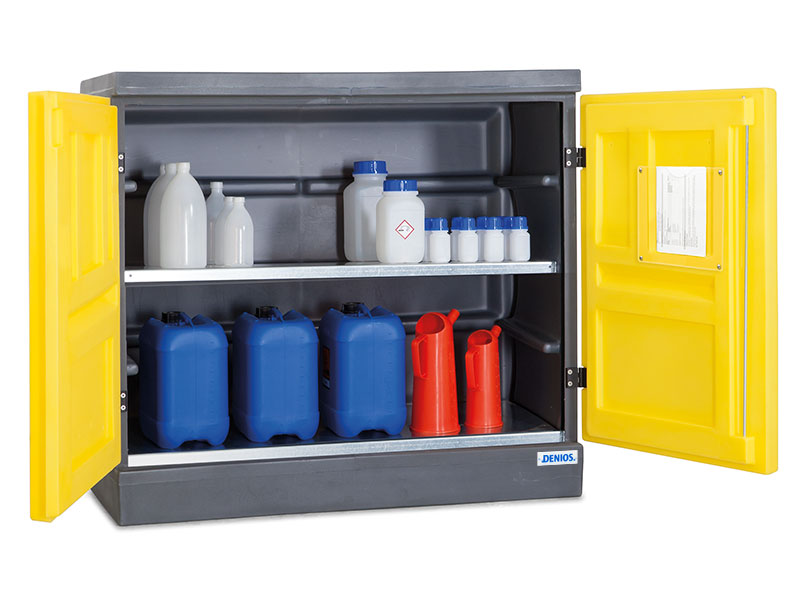 Acid and alkali cabinets