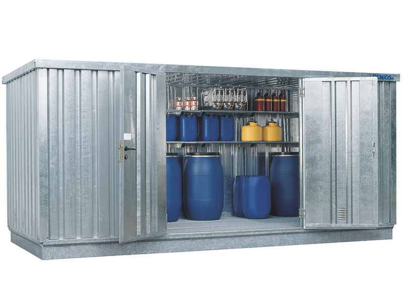 Walk In Chemical Storage Containers Direct From The