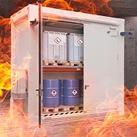 Up to 120 minutes fire resistance from inside and outside
