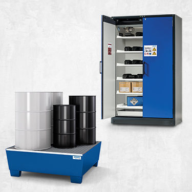 Storage hazardous materials